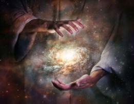 God creates Universe
